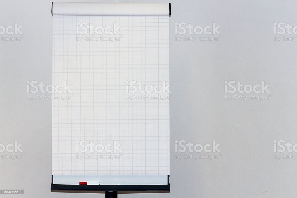 Flipchart stock photo