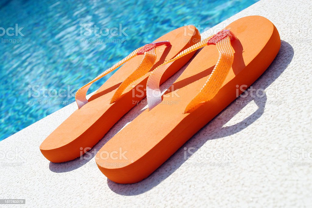 Flip flops royalty-free stock photo