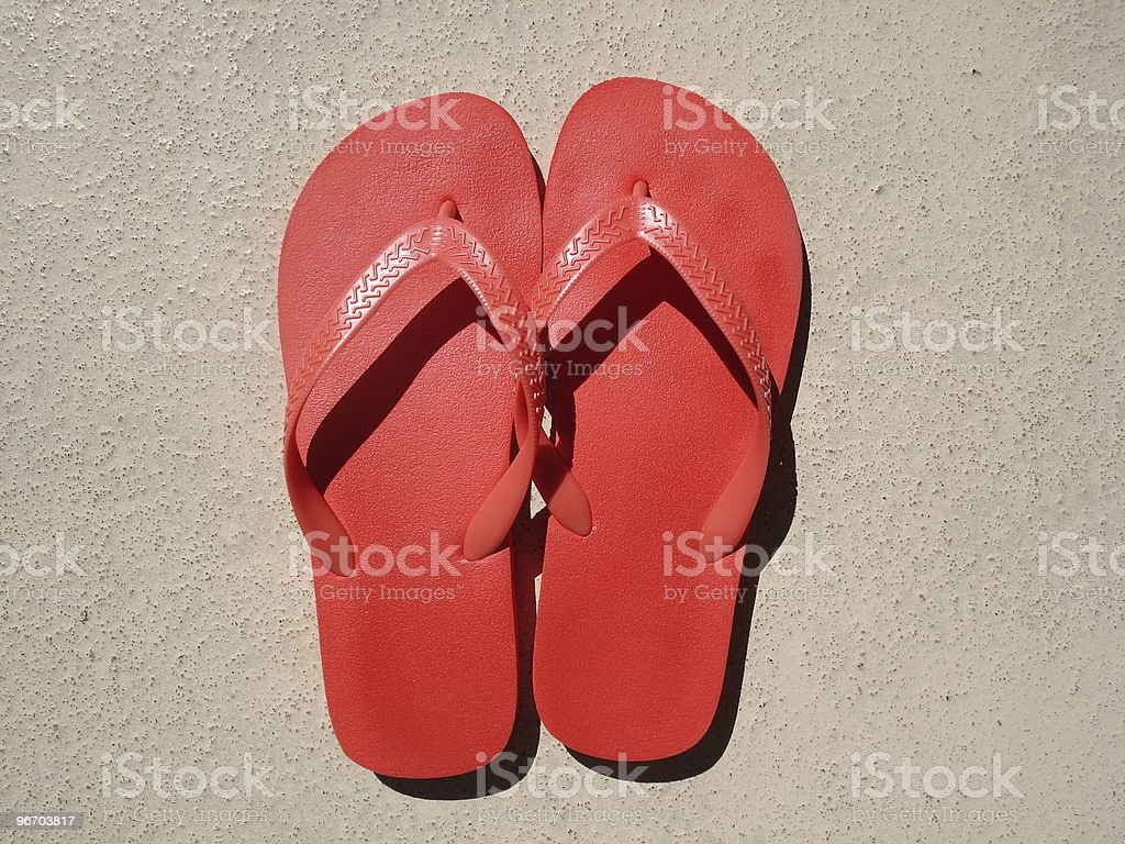 Flip-flops royalty-free stock photo