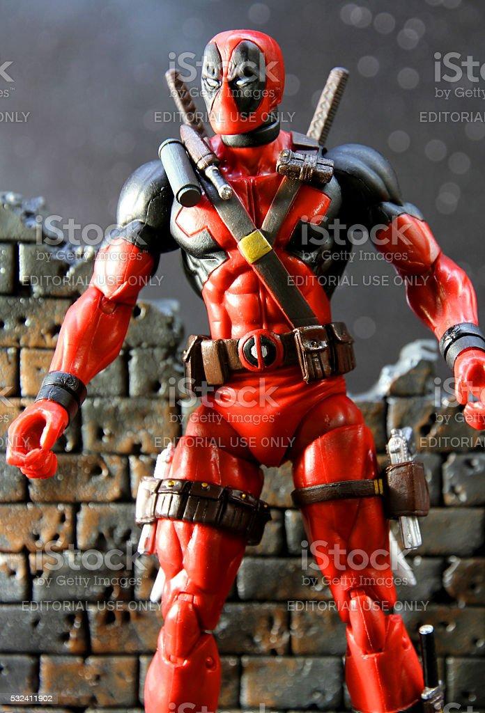 Flippant Warrior stock photo