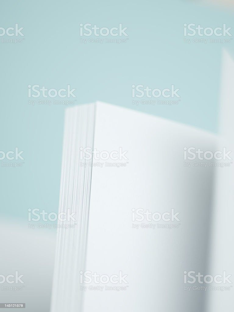 Flipping Pages royalty-free stock photo