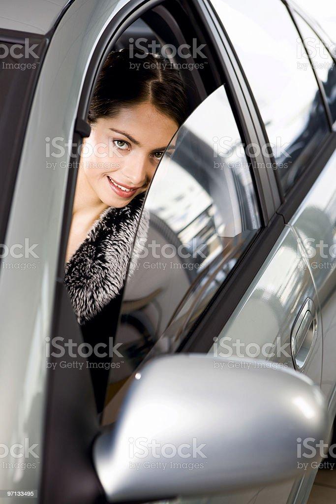 Flirting stare royalty-free stock photo