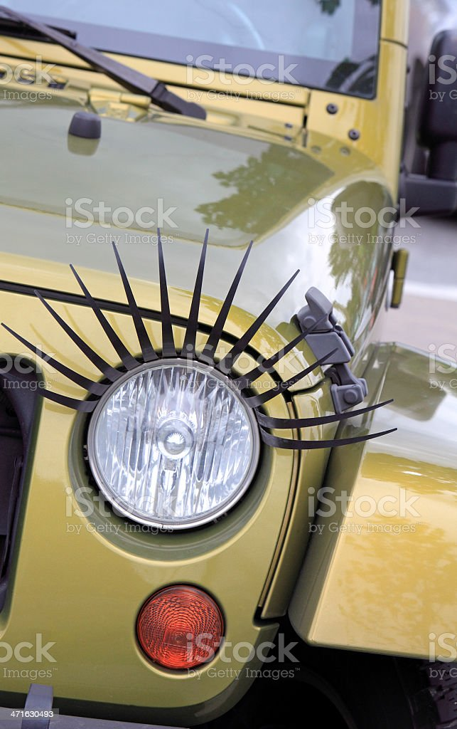 Flirty Vehicle Fashion royalty-free stock photo