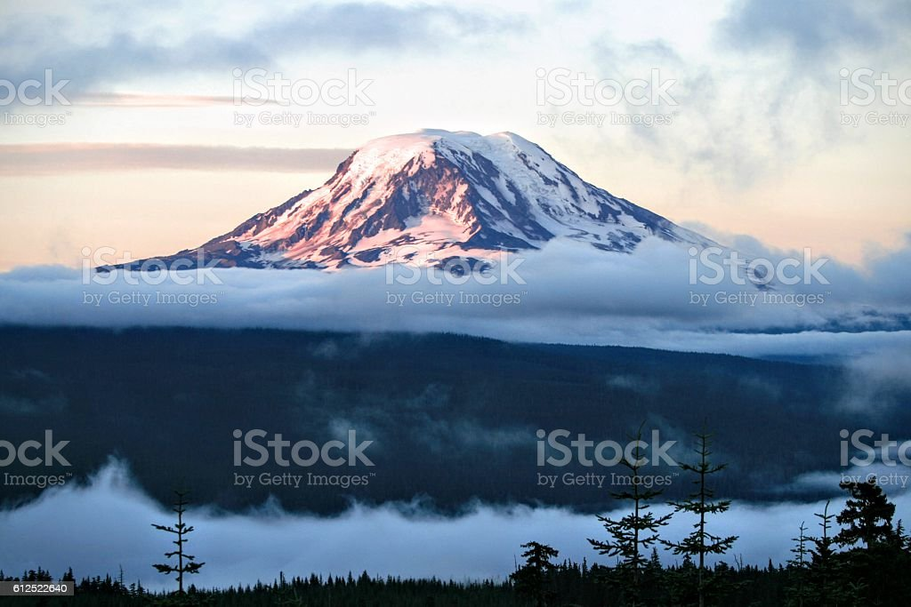 Float on by- Mount Adams stock photo