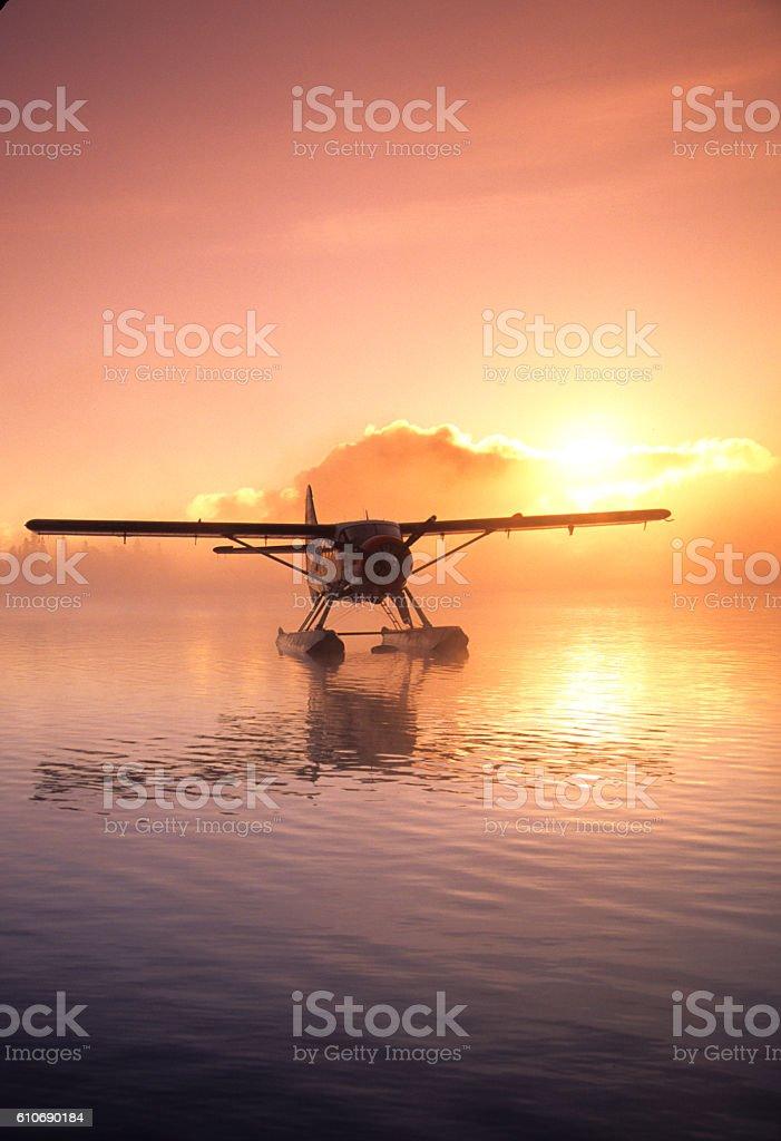 Float Plane 2256 stock photo