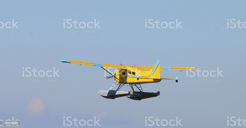 Float plane royalty-free stock photo