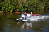 Float Plane Taking Off