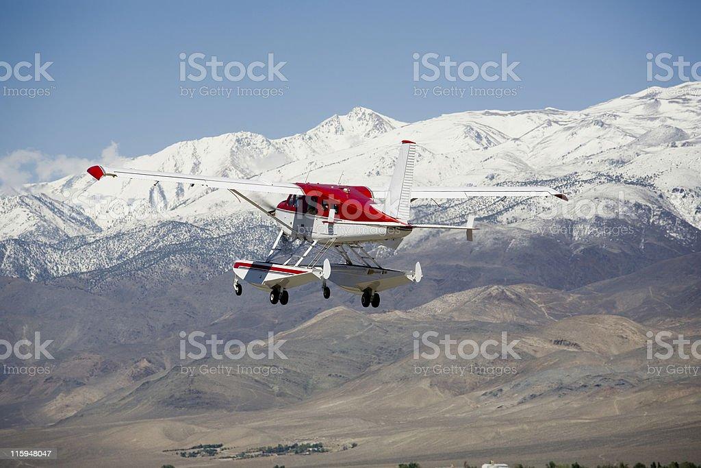 DEHAVILLAND BEAVER Float Plane-1 stock photo