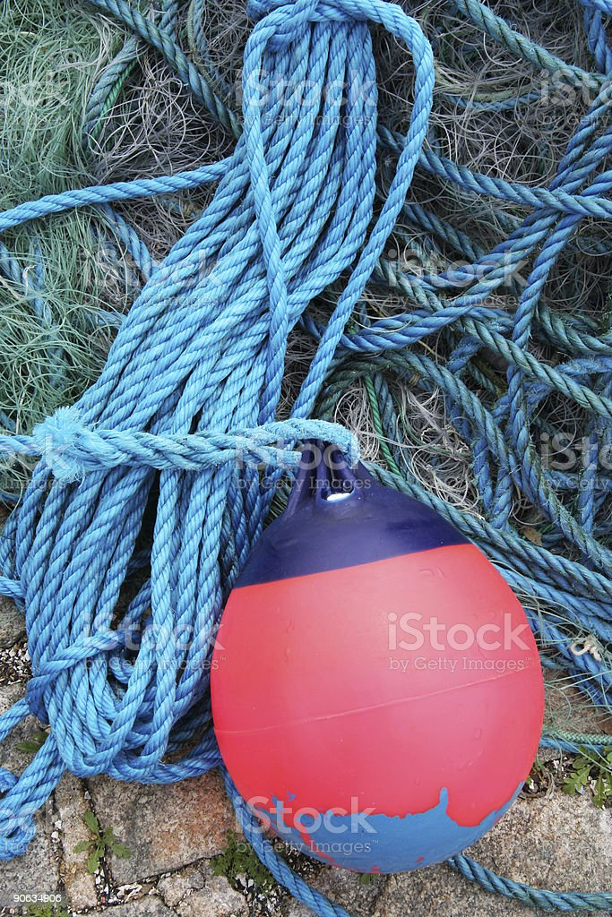 Float with rope royalty-free stock photo