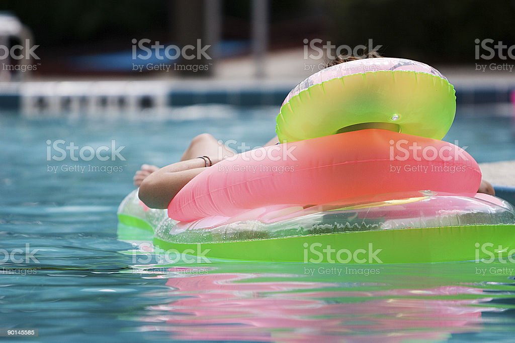 Floatation royalty-free stock photo