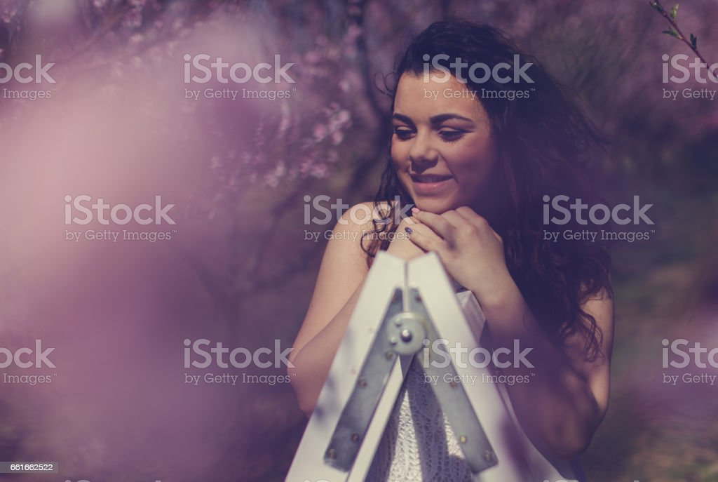 Floating Away In Minds... stock photo