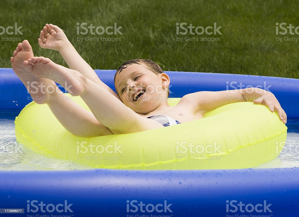 Floating Away royalty-free stock photo