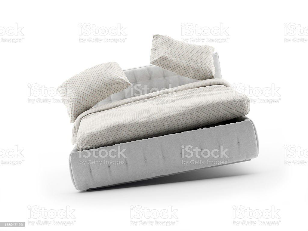 floating bed royalty-free stock photo