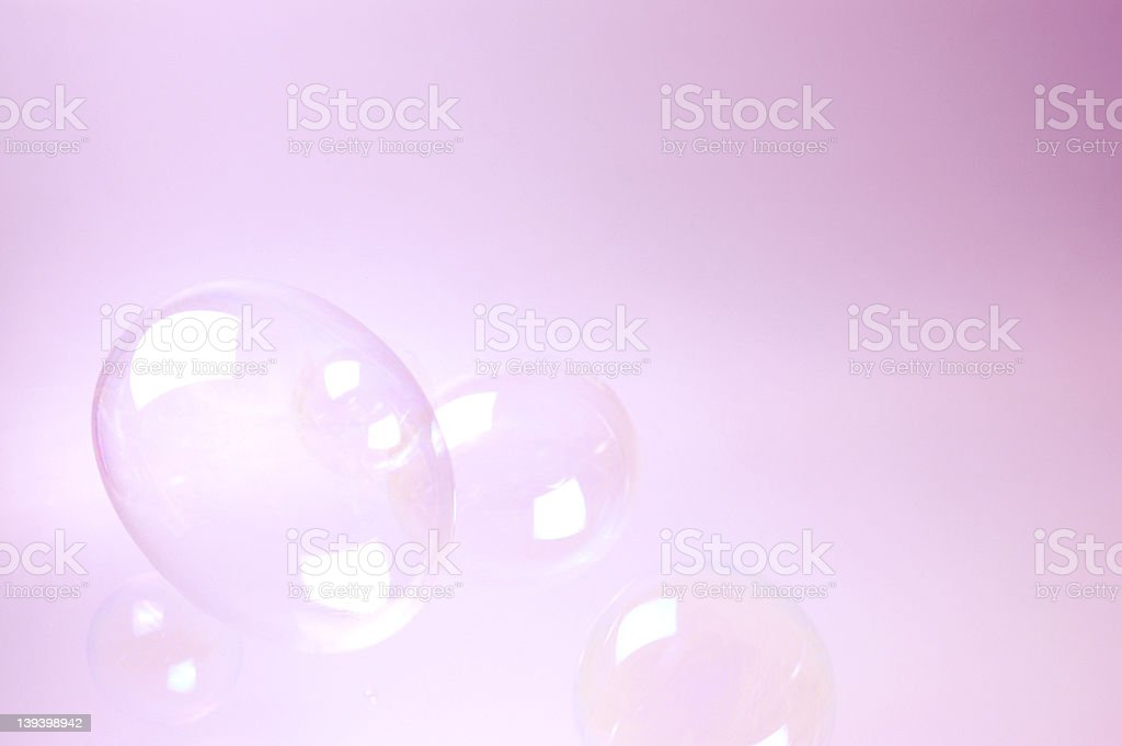 floating bubbles 2 royalty-free stock photo