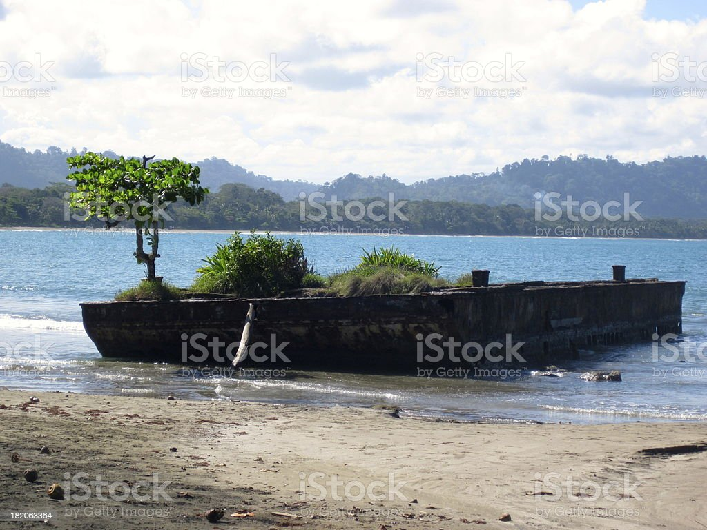 Floating Garden royalty-free stock photo