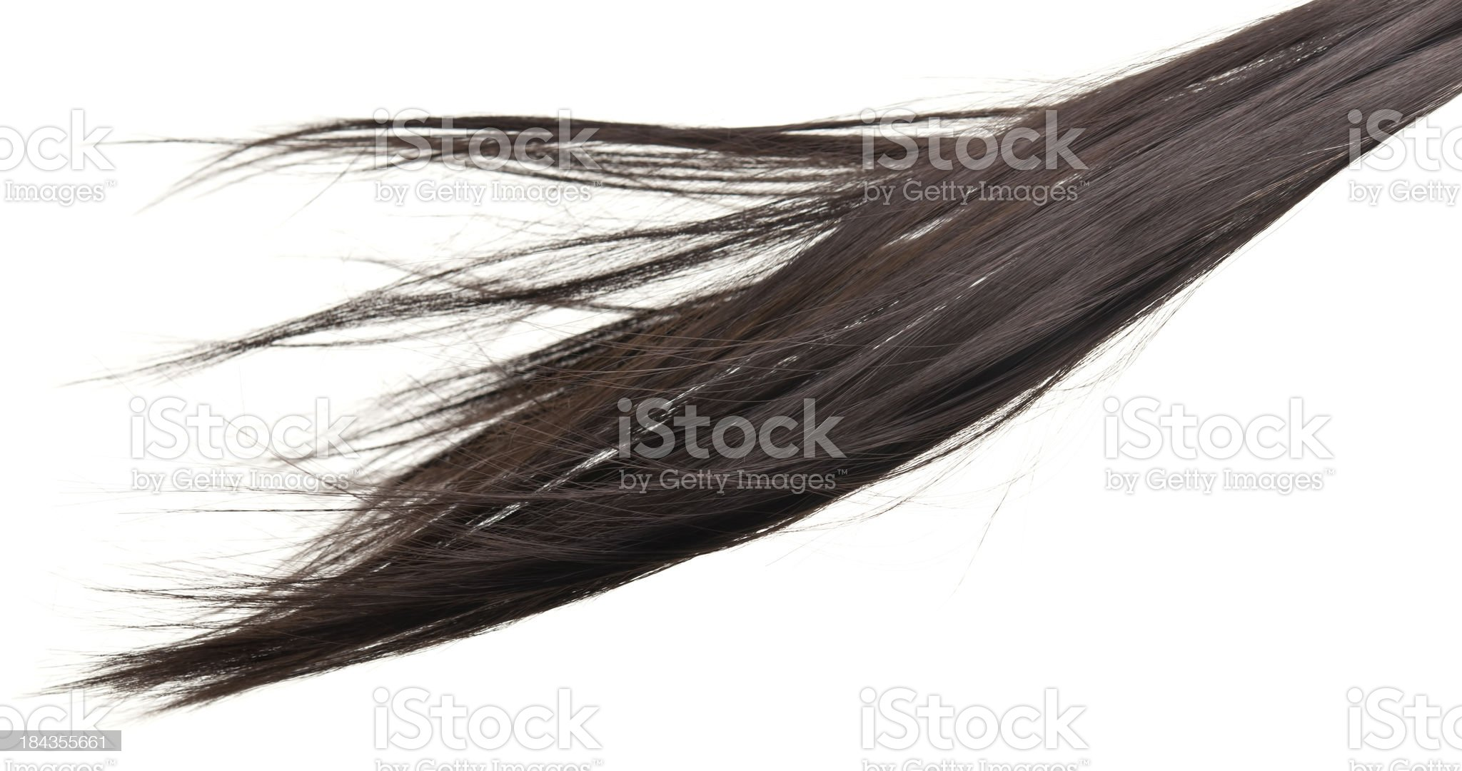 floating hair royalty-free stock photo