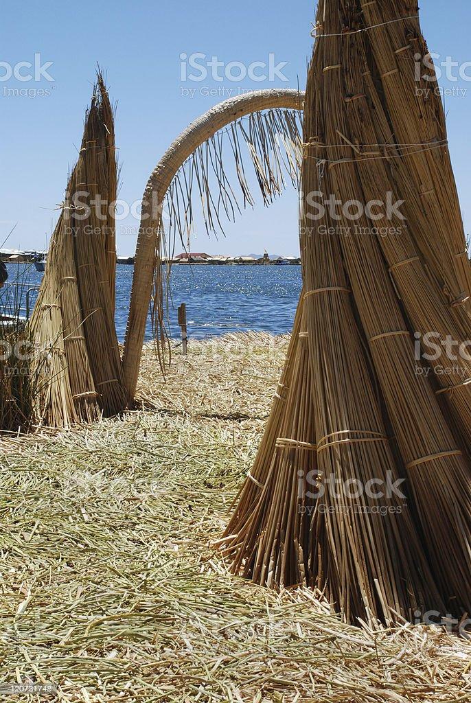Floating Island royalty-free stock photo