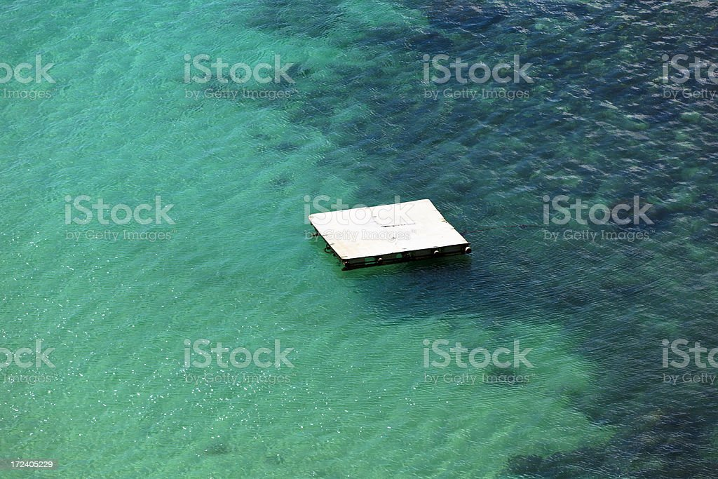 floating on water royalty-free stock photo