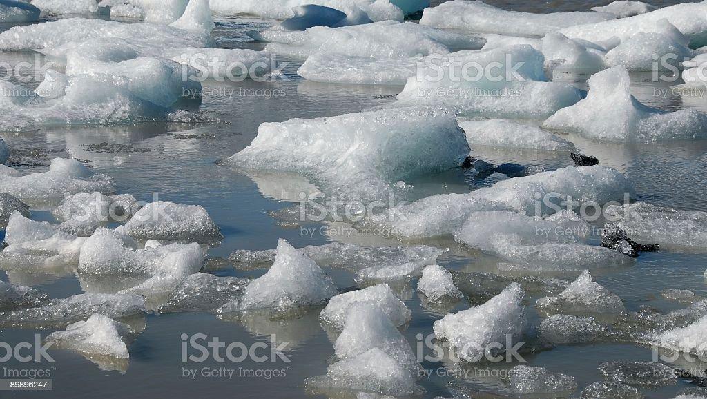Floating polar ice royalty-free stock photo