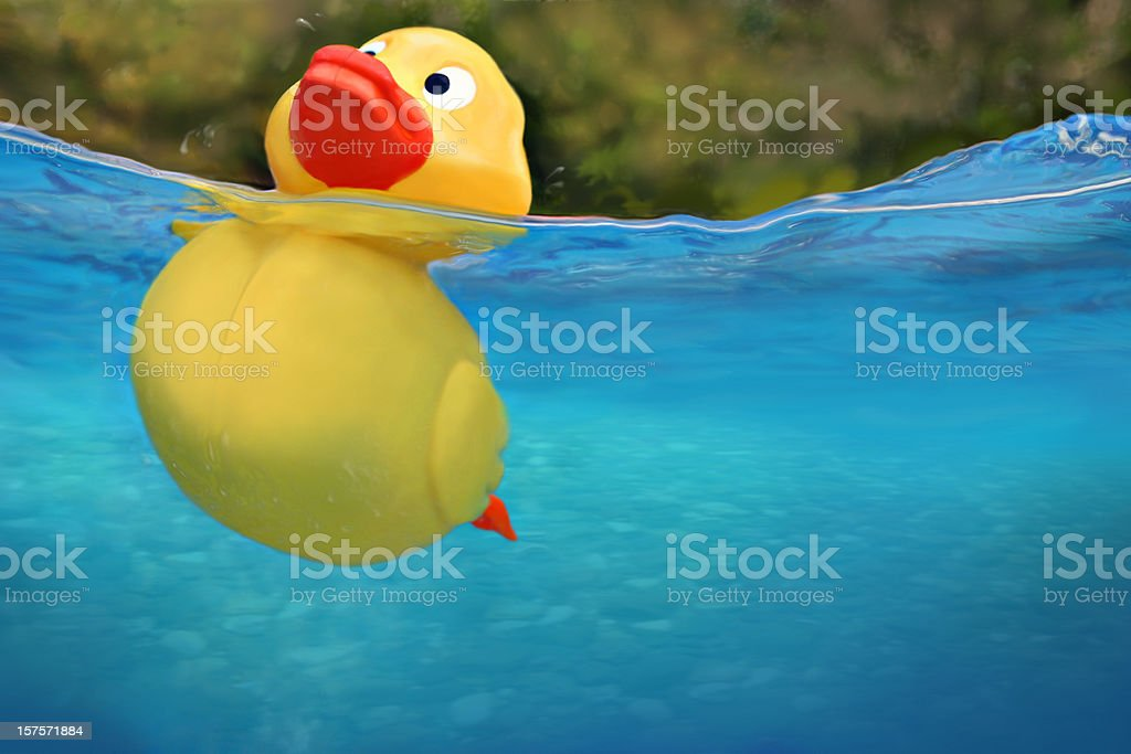 floating problems royalty-free stock photo