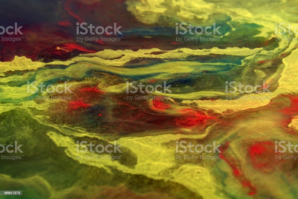 floating vibrant colors royalty-free stock photo