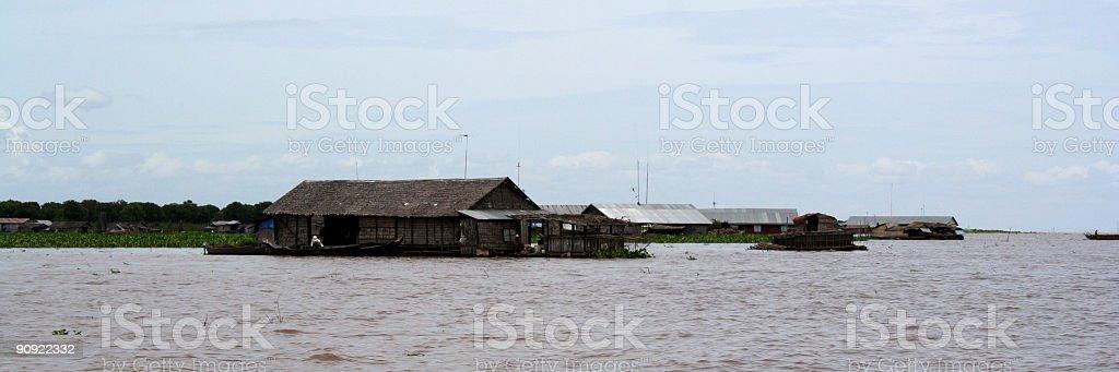 Schwimmende Dorf in der Nähe von Siem Rep – Kambodscha – Foto