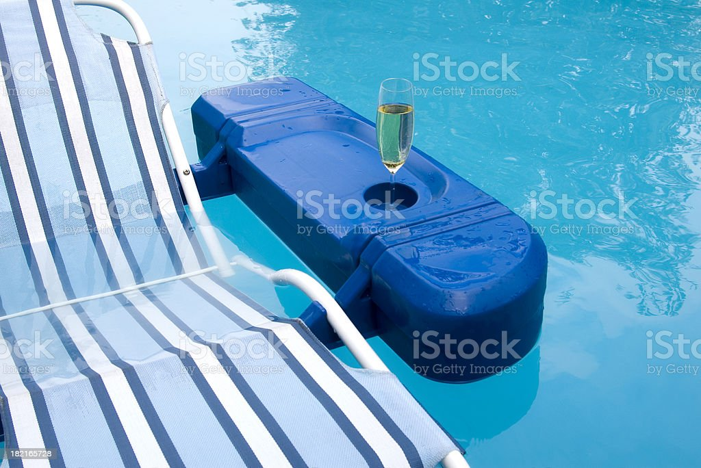 Floating Wine royalty-free stock photo