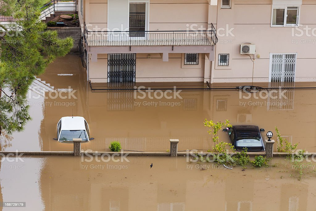 Flood Insurance stock photo