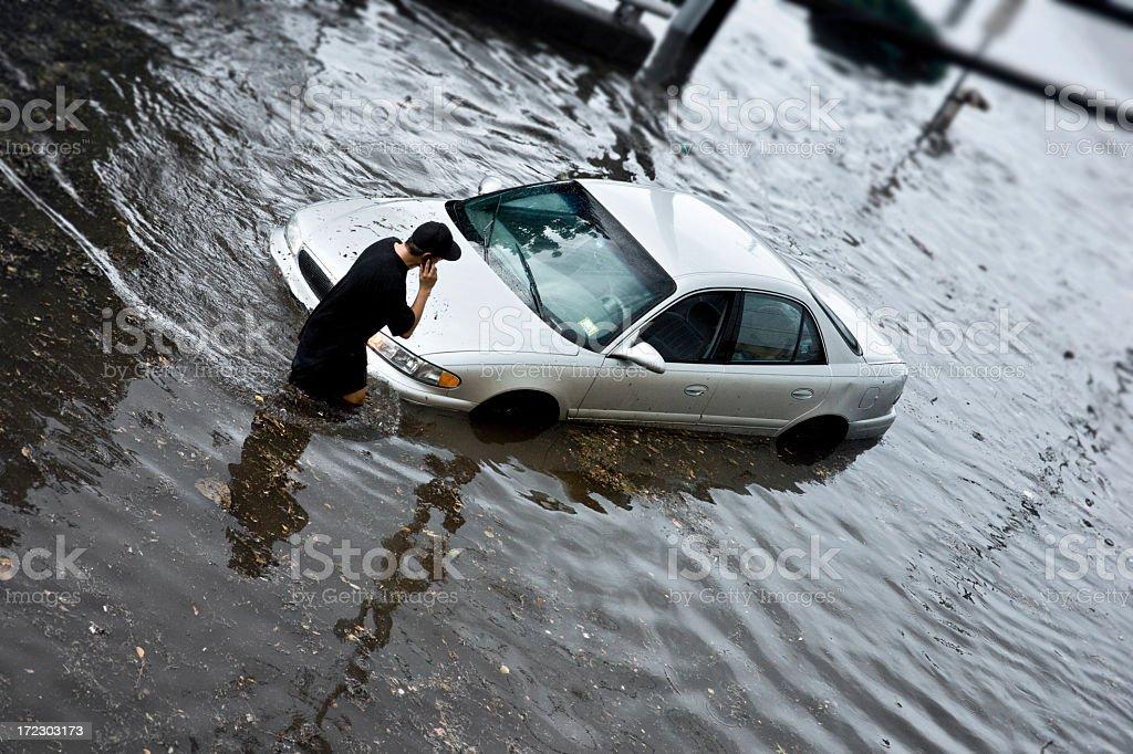 Flood Insurance stock photo