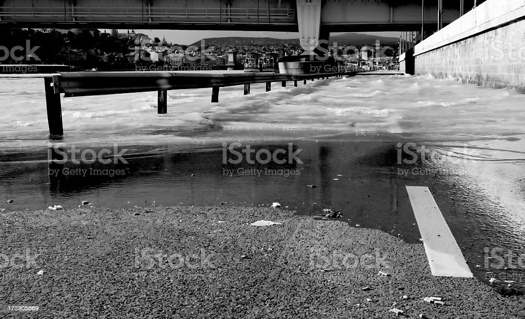 Flood royalty-free stock photo