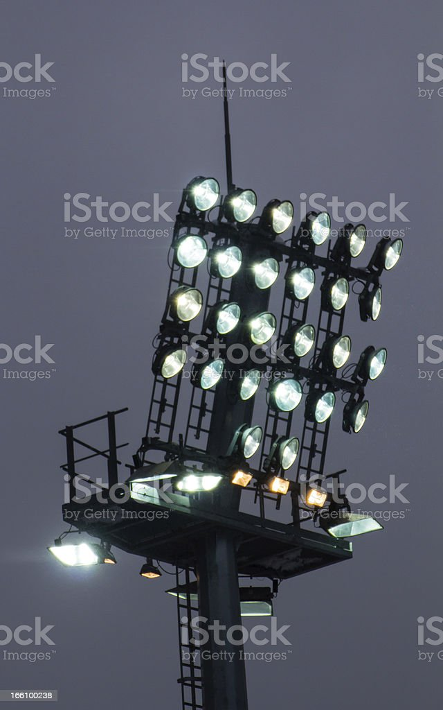 floodlight royalty-free stock photo