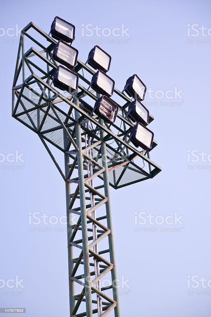 Iluminacja tower zbiór zdjęć royalty-free