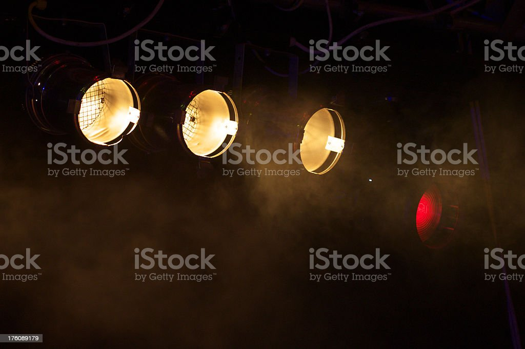 floodlights royalty-free stock photo