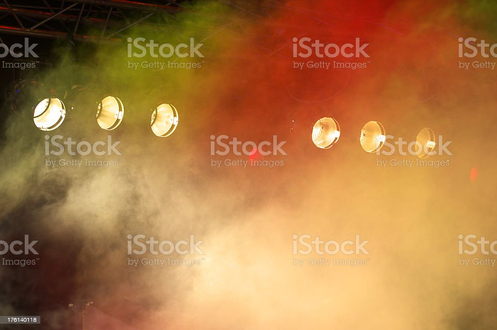 floodlights royalty-free stock photo