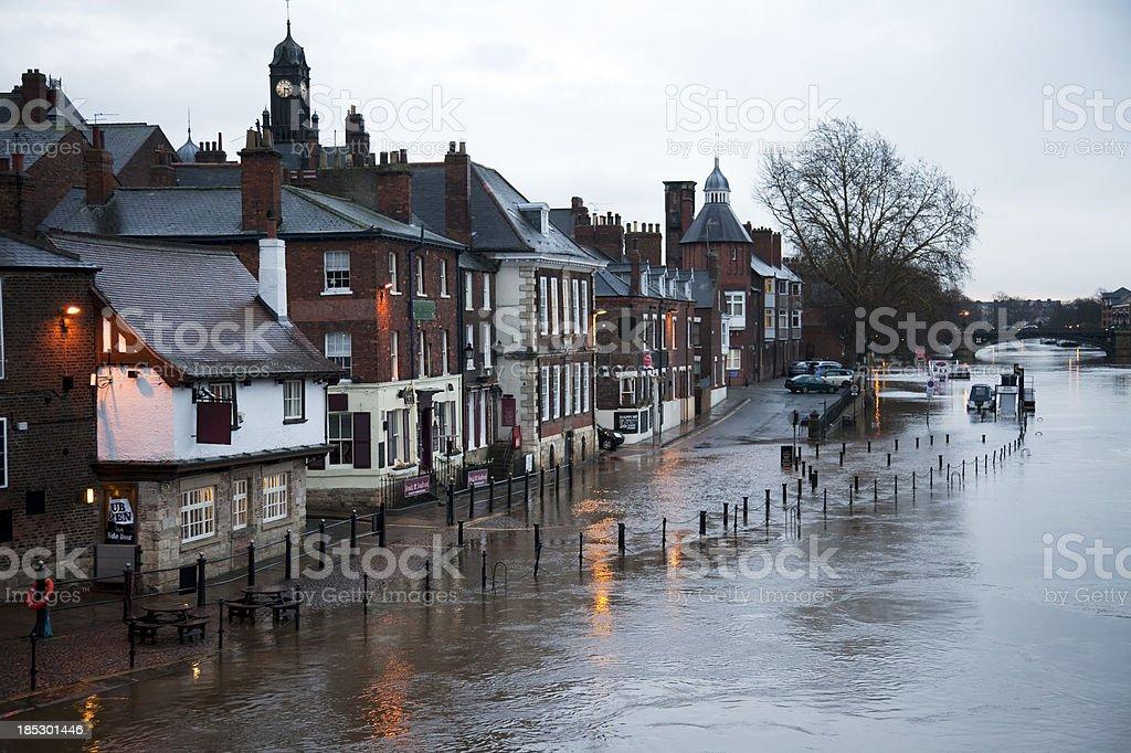 Floods stock photo