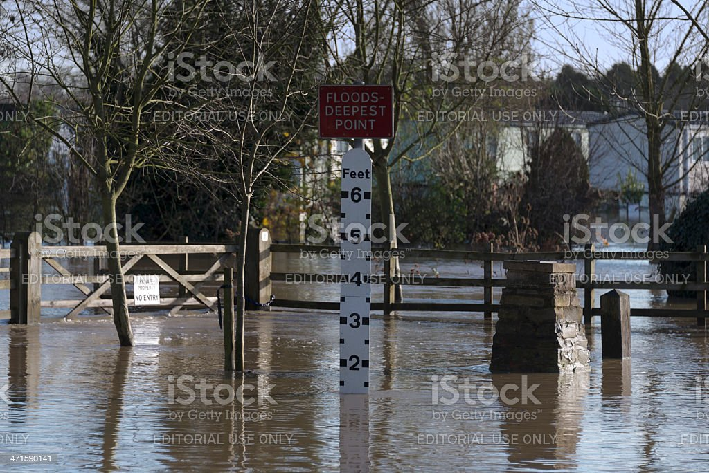 floods royalty-free stock photo