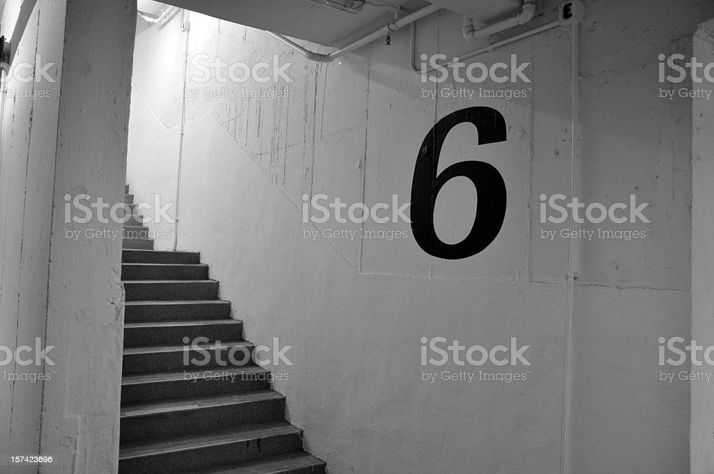 Floor 6 royalty-free stock photo