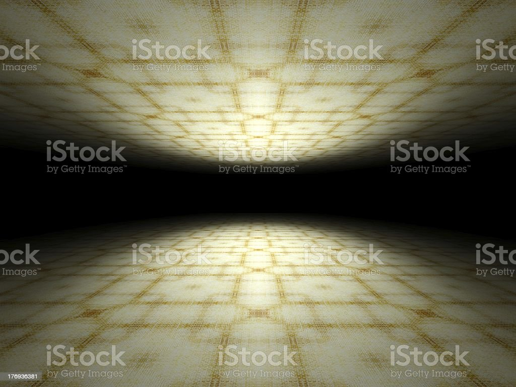 Floor and ceiling infinite abstract background texture royalty-free stock photo