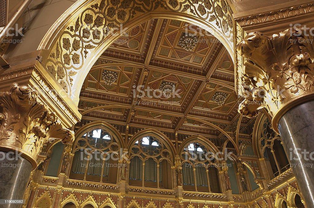 Floor canopy royalty-free stock photo