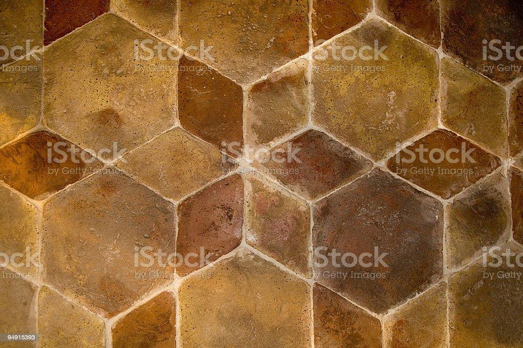 floor in italian cotto royalty-free stock photo