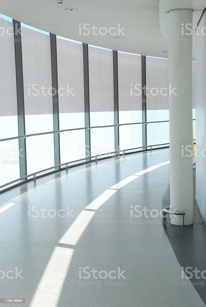 Floor in modern office building royalty-free stock photo