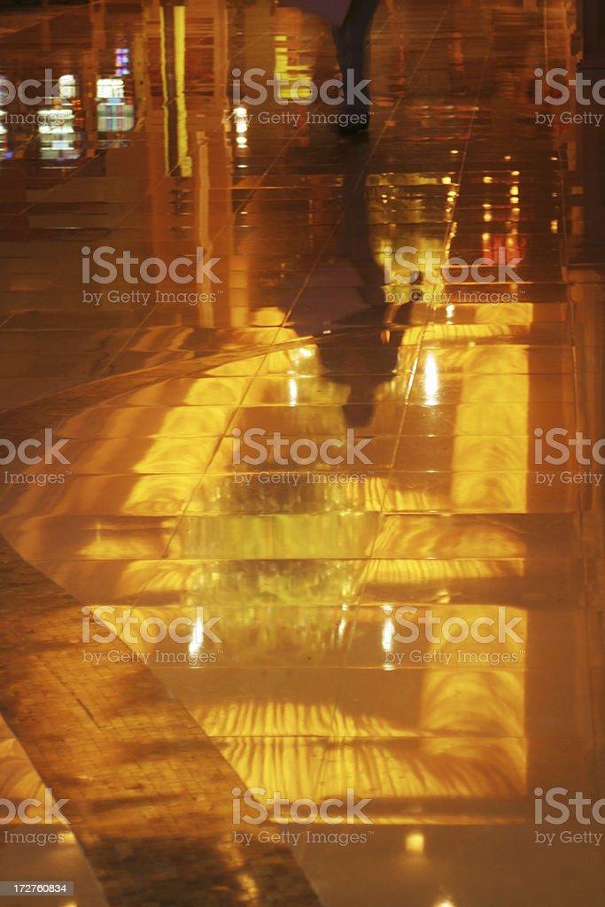 Floor mirror royalty-free stock photo