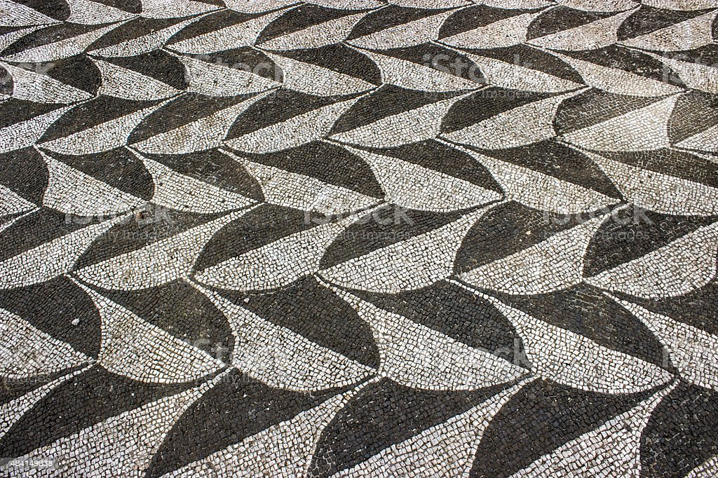 floor mosaic stock photo