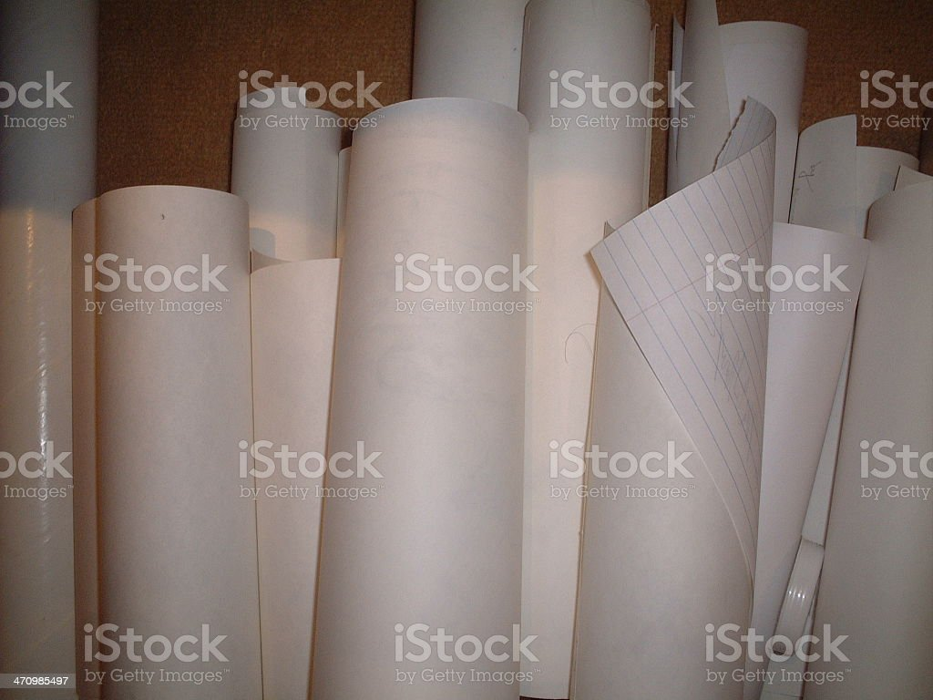 Floor of Rolls royalty-free stock photo
