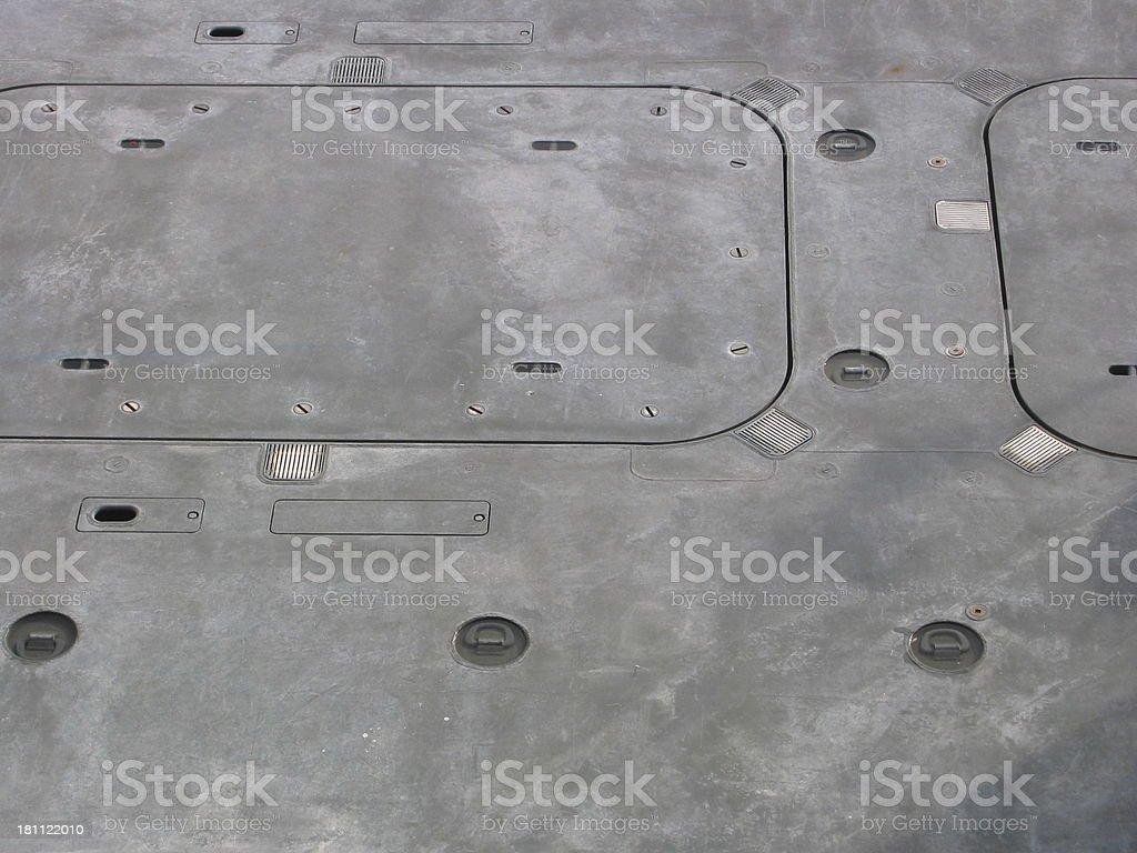 Floor of Ship royalty-free stock photo