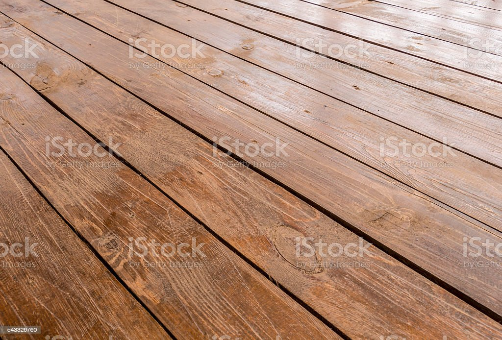 Floor on the terrace closeup stock photo