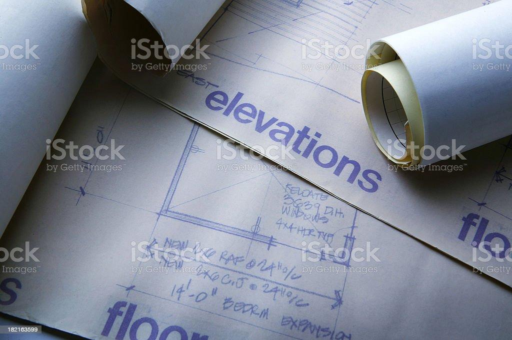 Floor Plan 2 royalty-free stock photo