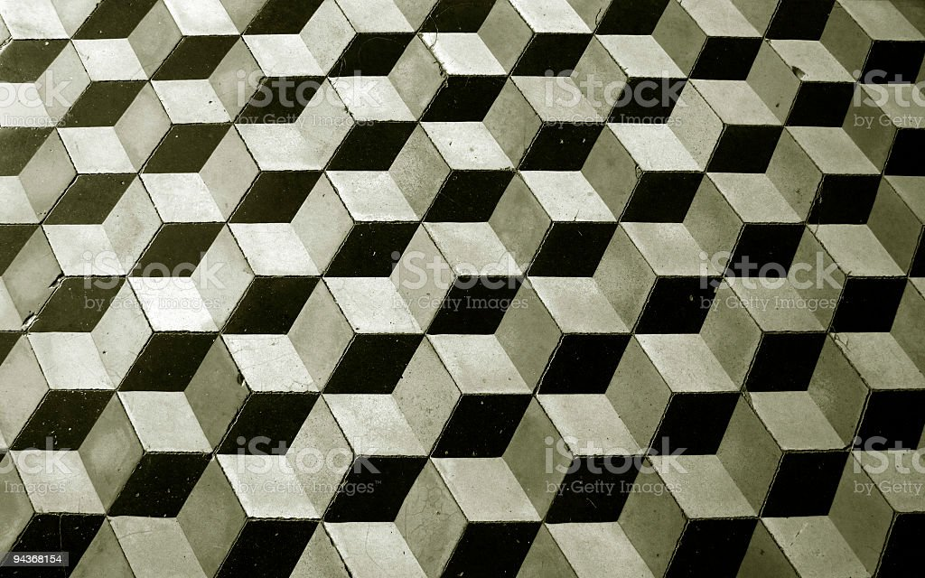 Floor Tile royalty-free stock photo