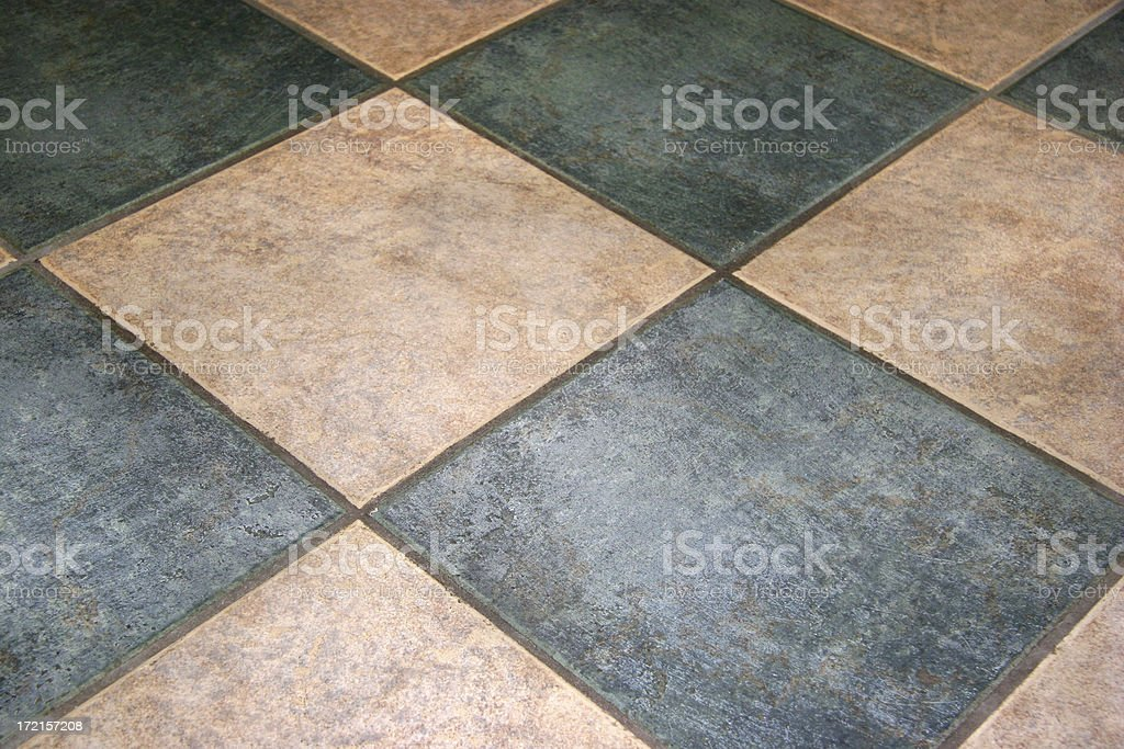 Floor Tiles royalty-free stock photo