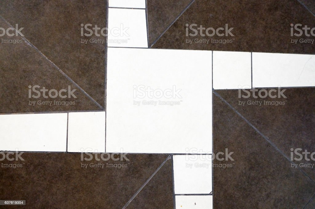 Floor with high quality marbles stock photo